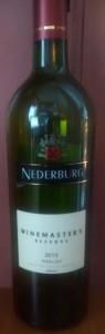 nederburg voorkant 2013 merlot